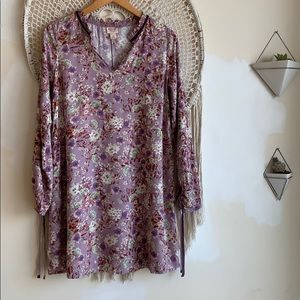 Mossimo floral long sleeve dress. XS